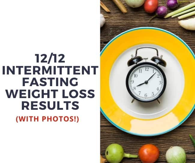 12 Hours Intermittent Fasting 1 Month (Before & After Photos)!
