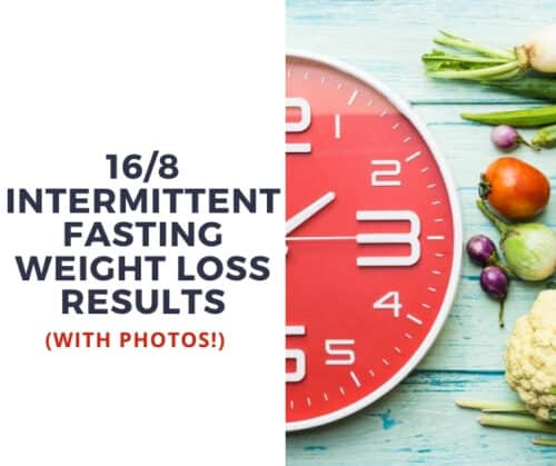 16/8 Intermittent Fasting Before And After Weight Loss Transformation