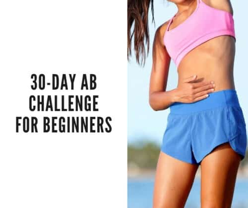 30 day ab challenge for beginners intermittent fasting