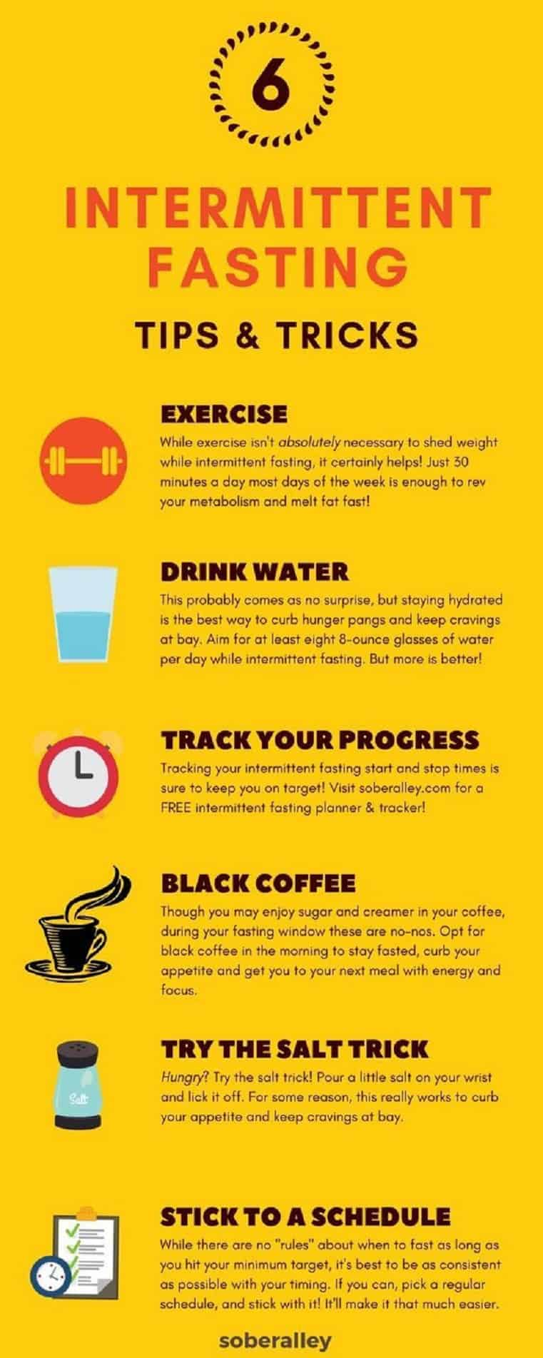 8 Intermittent Fasting Tips & Tricks For Beginners