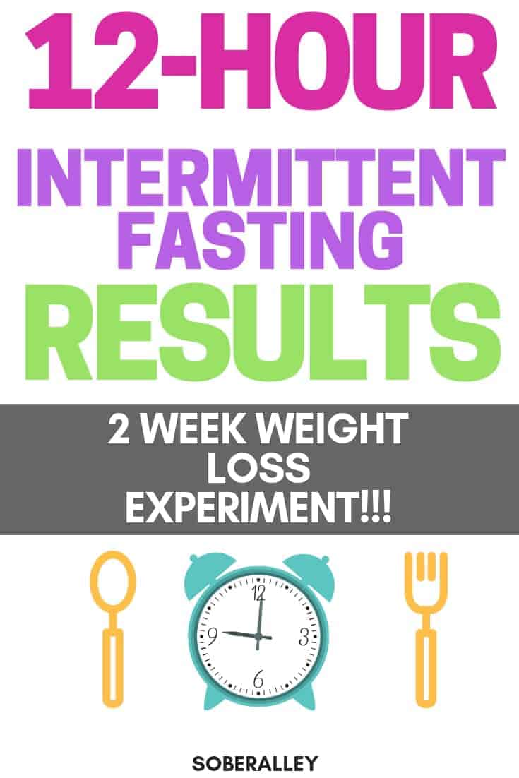 16 8 Intermittent Fasting Results >> Intermittent Fasting 12 Hours: Week 2 Before & After Results! | Sober Alley