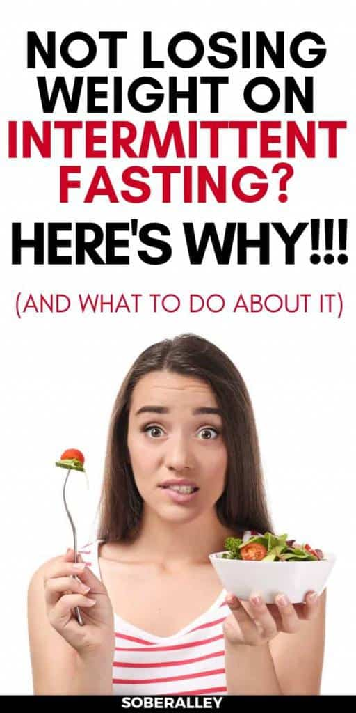 Intermittent Fasting Tips: Not losing weight intermittent fasting? Here's 10 reasons why you may not be able to lose weight fast intermittent fasting and what you need to do about it!