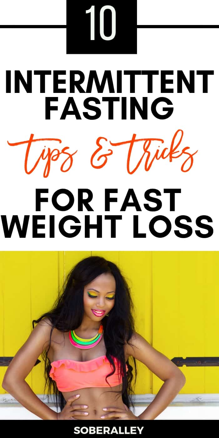 Intermittent fasting for weight loss is a great way to lose weight fast! Here are some great intermittent fasting tips and tricks you might need to get started intermediate fasting for beginners!