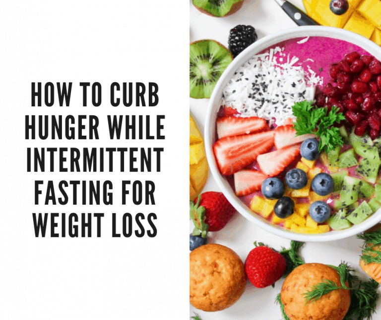 curb hunger intermittent fasting