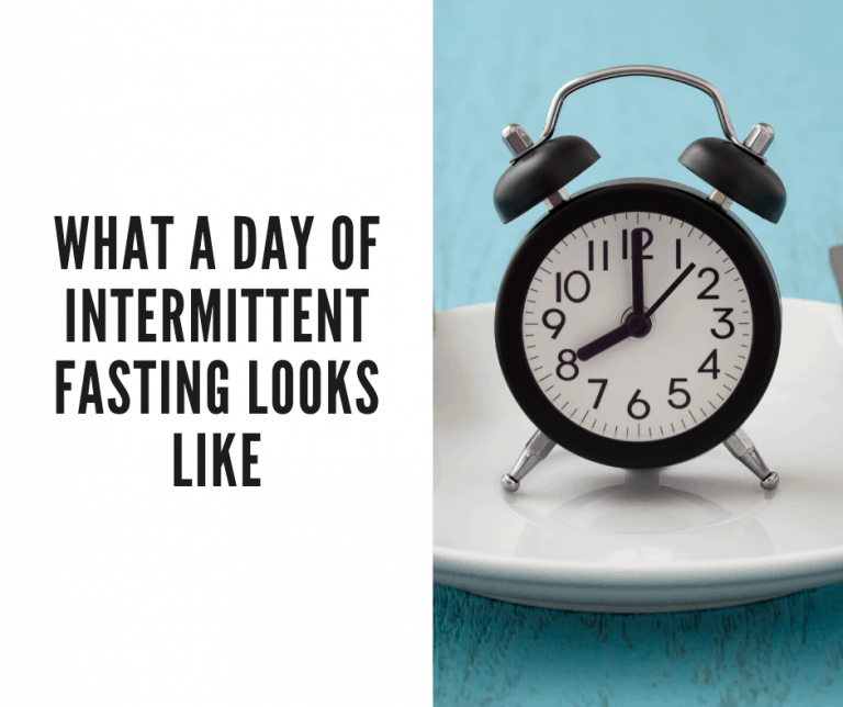 day of intermittent fasting