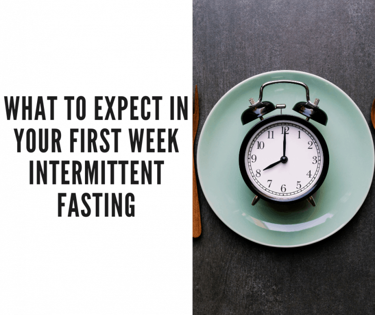 first week intermittent fasting