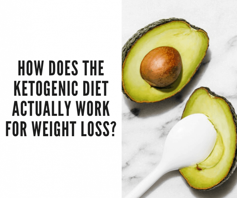 how does ketogenic diet work for weight loss
