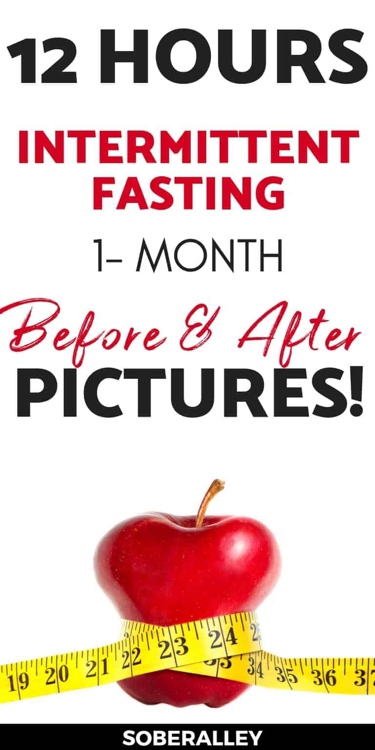 Intermittent fasting 16:8 works, but does intermittent fasting 12 hours work for weight loss? I lost 12 pounds and 8 inches intermediate fasting for one month. Here are my before and after intermittent fasting weight loss results pictures for 1 month!