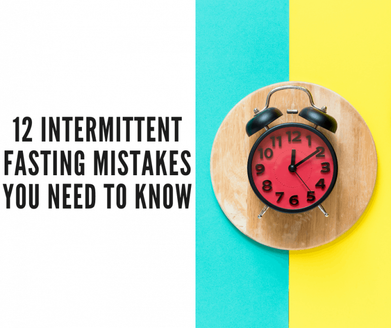 intermittent fasting mistakes