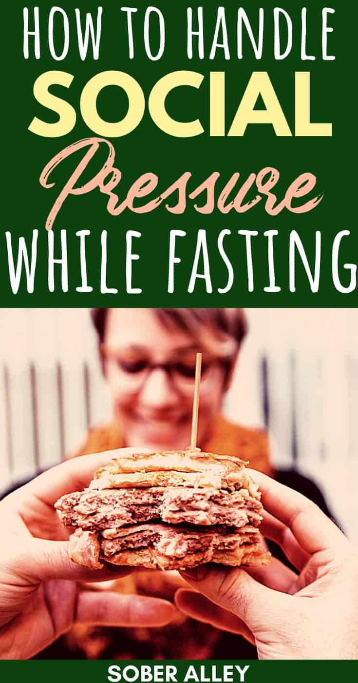 How To Handle Social Pressure While Intermittent Fasting