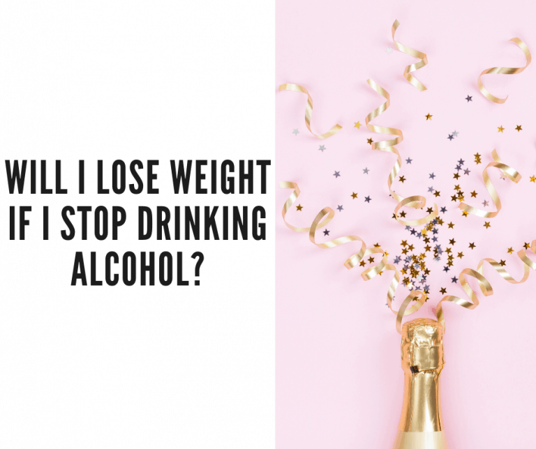 lose weight stop drinking alcohol