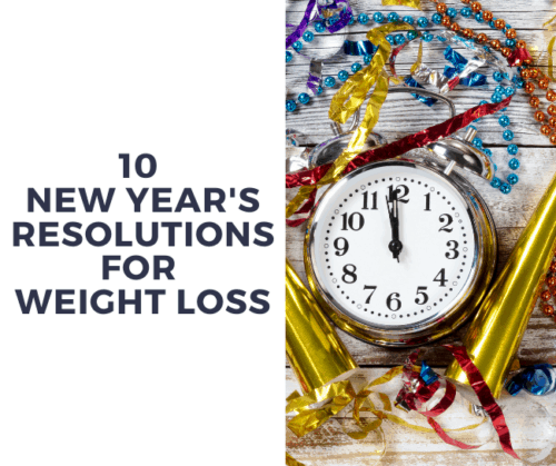 new year weight loss resolution