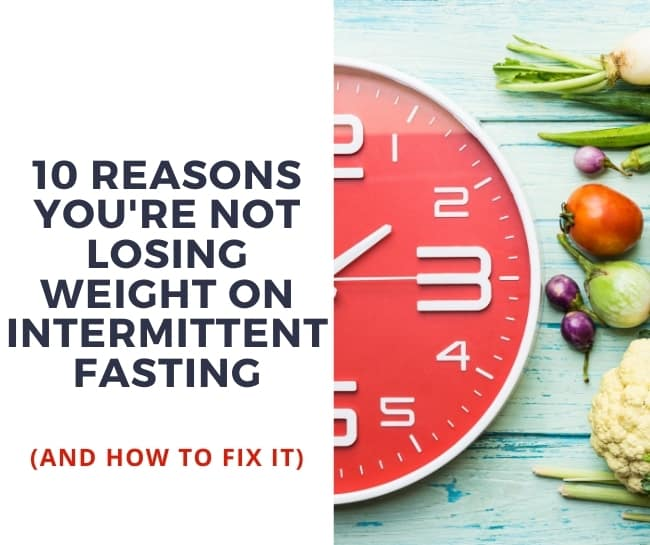 not losing weight fasting diet
