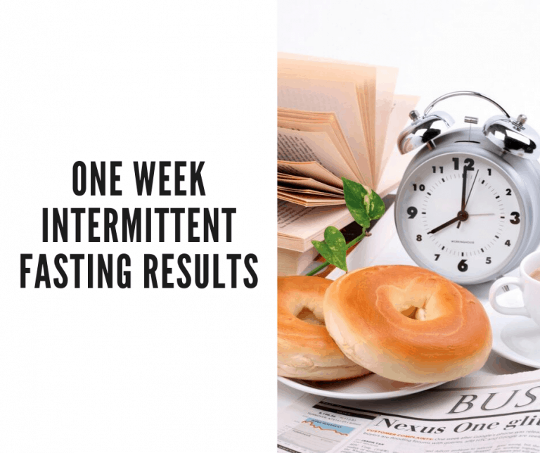 one week intermediate fasting results