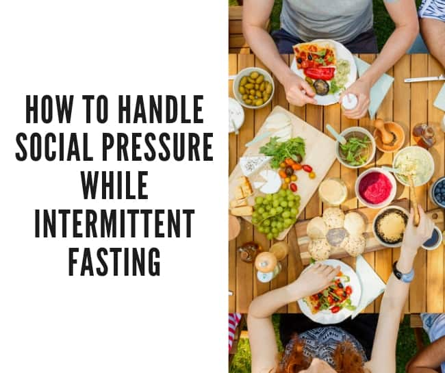 how to handle social occasions intermittent fasting header image
