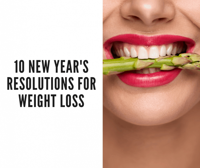 weight loss new years resolution