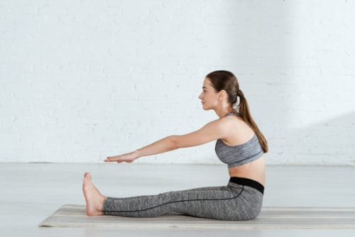 yoga indoor workout