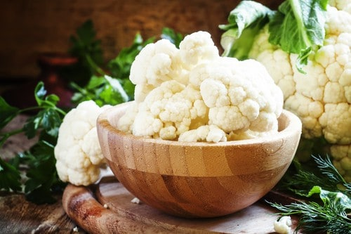 zero calorie food cauliflower