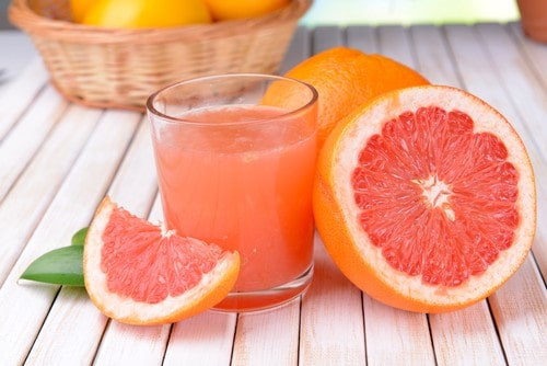 zero calorie food grapefruit