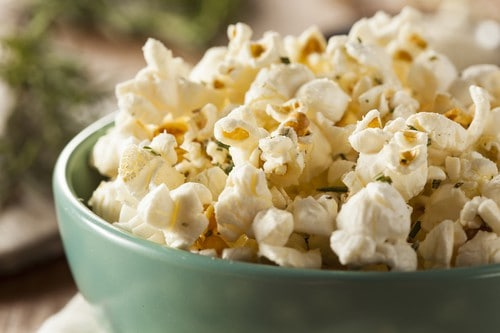 zero calorie food popcorn