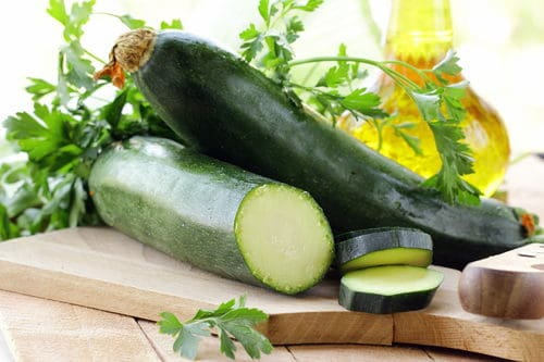 zero calorie food zucchini